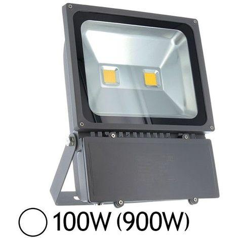 projecteur led 100w 900w ext ip65 blanc jour 6000 k 8045. Black Bedroom Furniture Sets. Home Design Ideas