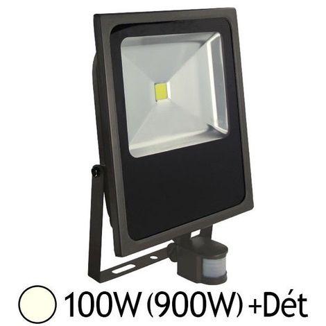 Led 100w Plat Cob Ip65 Extérieur GrisDétecteur Projecteur vm0O8wNn