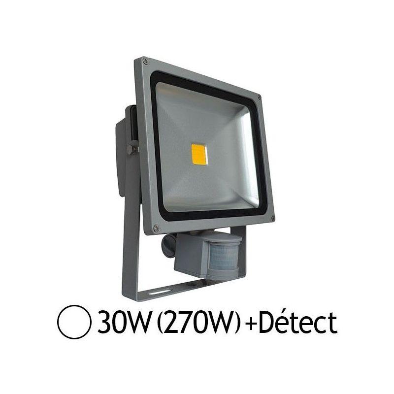 Détecteur Jour Projecteur Led Ip65 6000°k 30w270wExt Blanc Avec qUzpSMVG