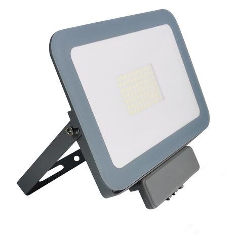 Projecteur Led Compact 50W Detecteur de Mouvement Blanc Froid 6000K