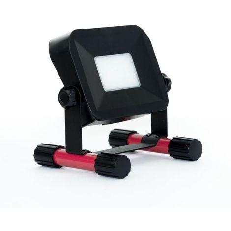 Projecteur LED de chantier rechargeable 10W