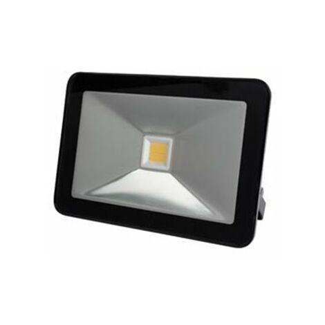 """main image of """"Projecteur Led Design - 10 W, Blanc Chaud - Noir"""""""