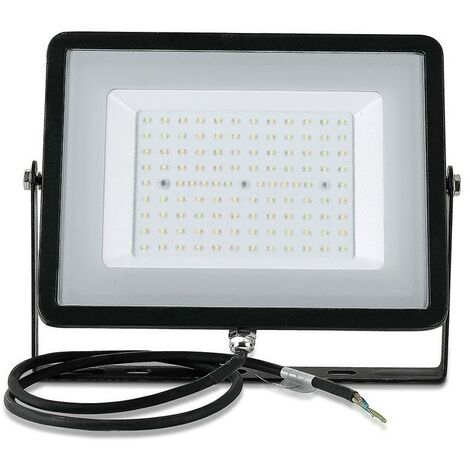 Projecteur LED Extérieur 100W  Pro Ip65 Samsung Chip Noir Vt-100
