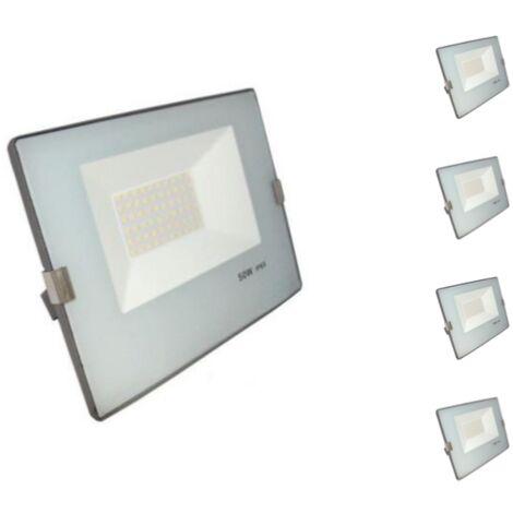 Projecteur LED Extérieur 50W IP65 - BLEU GRIS (Pack de 5)