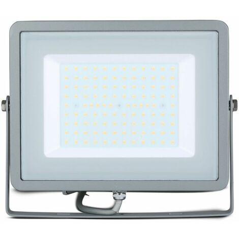 Projecteur LED Extérieur  Pro 100W Ip65 Samsung Chip Gris Vt-100
