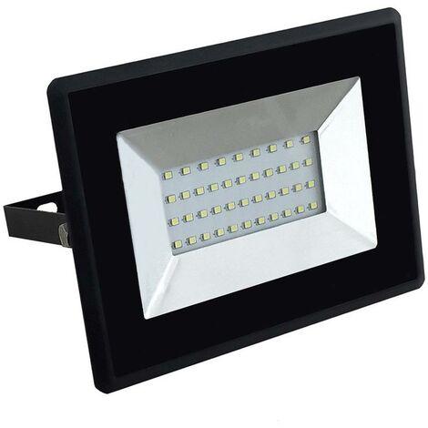 Projecteur LED Extérieur  Pro 30W Ip65 Samsung Chip Noir Vt-30