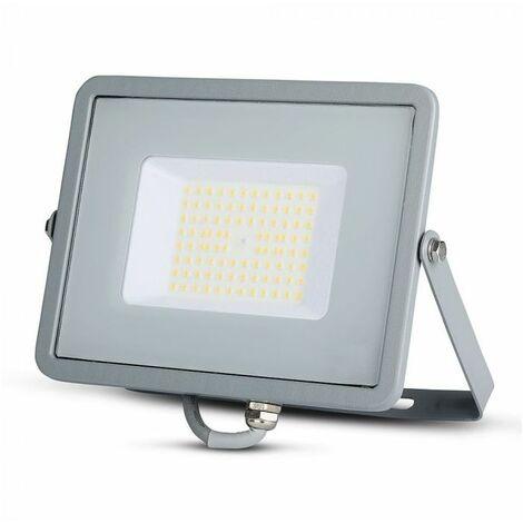 Projecteur LED Extérieur  Pro 50W 120lm/W Ip65 Samsung Chip Blanc Vt-56