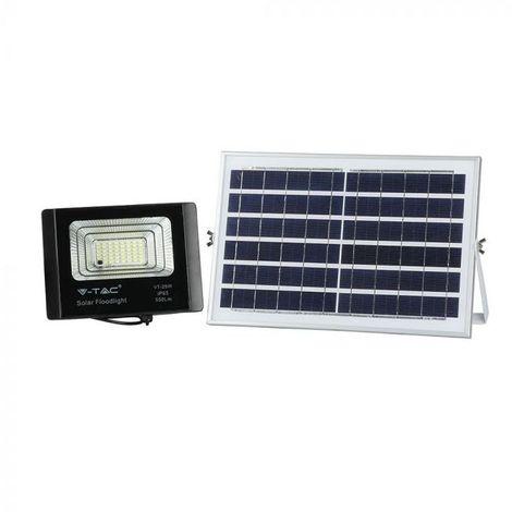 Projecteur LED Extérieur Solaire 12W Ip65 Noir 120° Vt-25W