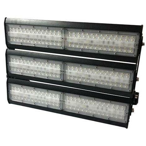 Projecteur LED Industriel 300W IP65 Noir - Blanc Froid 6000K - 8000K - SILAMP