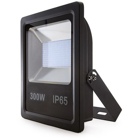 Projecteur LED IP65 SMD2835 300W 22500Lm 30.000H | Blanc froid (AOE-FL118-300W-CW)