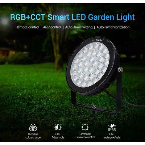 Projecteur LED Jardin 25W RGB+CCT 220V | RGB + CCT