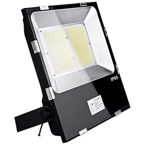 Projecteur LED plat symétrique PRO 150W 230V Driver Meanwell - 24 000Lm. 4000K IP65. Coloris Noir - 3004 - Fox Light - -