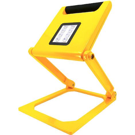 Projecteur LED Portable & Pliant avec batterie 4400mA - 20W IP44 - K•POWER LIGHT - Keli France - 691025