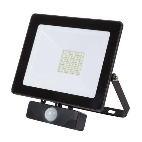 """main image of """"PROJECTEUR LED POUR L'EXTERIEUR - 30 W. BLANC NEUTRE - NOIR (RI16435)"""""""