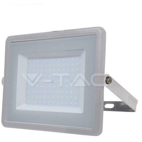 Projecteur LED Pro Gris 100 W Samsung Chip Vt-100 - Blanc Neutre - 4000k - 100 Deg V-TAC