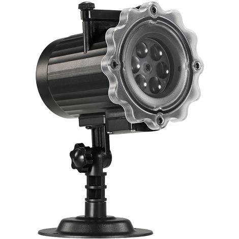 Projecteur LED, projecteurs de Noel, avec 6 diapositives d'animation dynamique