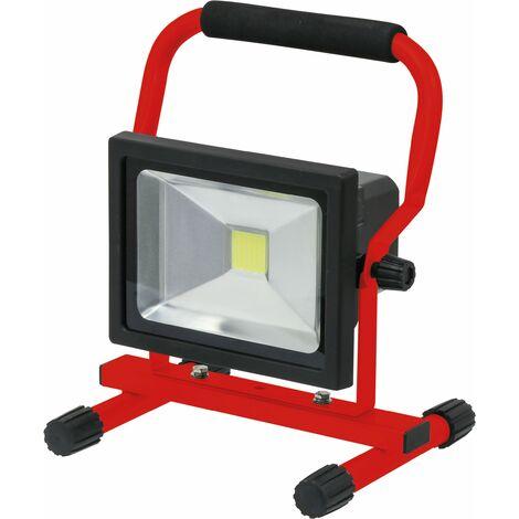 PROJECTEUR LED RECHARGEABLE 1300LM 20W SUR PIED AVEC POIGNEE DRAKKAR - 02319 - -