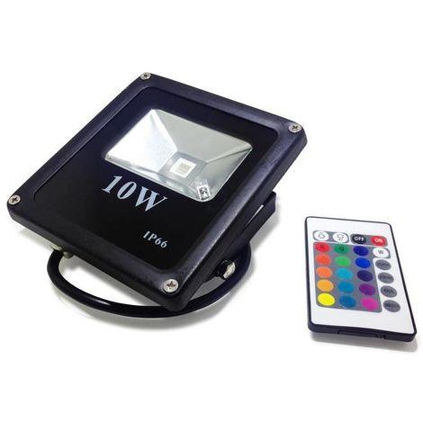 Projecteur LED RGB 10W   RGB