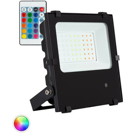 Projecteur LED RGB 30W 135lm/W HE PRO Dimmable RGB - RGB
