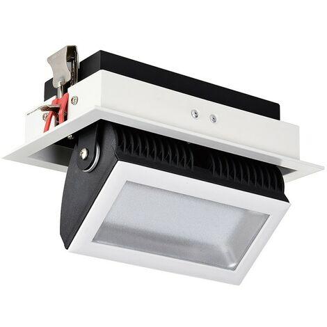 Projecteur LED SAMSUNG 120lm/W Orientable 140° Rectangulaire 48W
