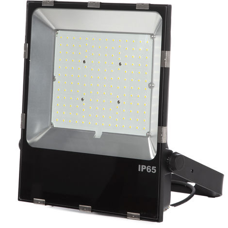 Projecteur Led Slimline Lumileds LED 3030 150W 18000Lm IP65 50000H | Blanc froid (1916-NS-HVFL150W-CP-CW)