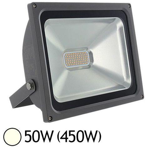 projecteur ext led 50w 450w ip65 finition gris. Black Bedroom Furniture Sets. Home Design Ideas