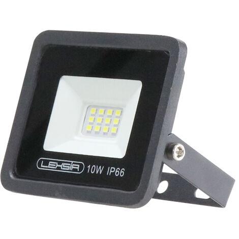 Projecteur LED SMD Lexsir 10W Dimmable IP66 Blanc Froid 6000K   IluminaShop