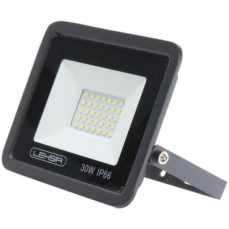Projecteur LED SMD Lexsir 30W Dimmable IP66 Blanc Froid 6000K   IluminaShop