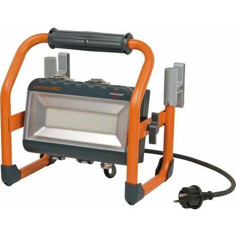 Projecteur LED SMD rechargeable avec batterie 3200 lumens (40W, IP55, 5m de câble, 2 modes d'éclairage) professionalLINE