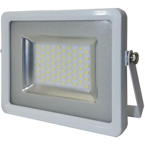 Projecteur LED SMD SLIM 30W 4500K° Corps Blanc