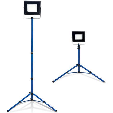 Projecteur LED Trepied Télescopique - 50W IP65 - K•POWER LIGHT - Keli France - 691355