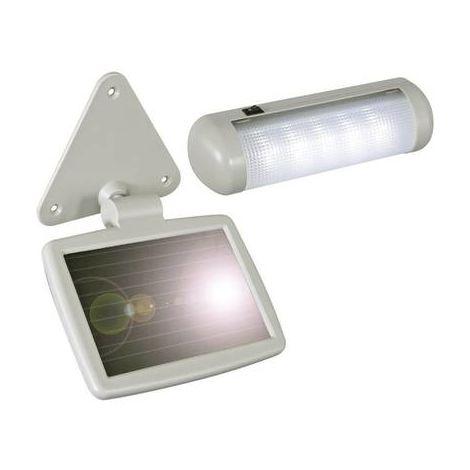 Projecteur mural solaire Velleman SOL9 SOL9 Ampoule LED jeu 15 W blanc froid blanc 1 pc(s)