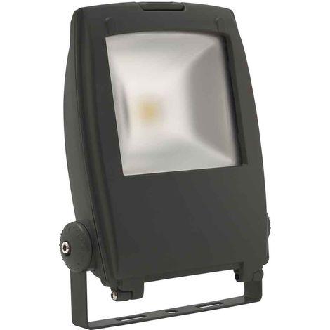 Projecteur noir RINDO MCOB 30W LED integrés IP65 Blanc neutre extérieur KANLUX - 18481