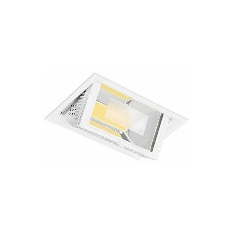 Projecteur orientable encastré LED Metropolis - 45W - 4200K - Blanc