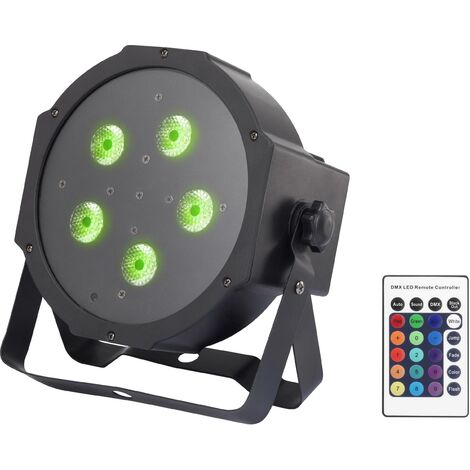 Projecteur PAR LED Renkforce GM307 Nombre de LED: 5 x 9 W W982051