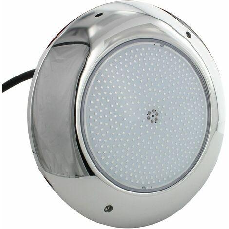 Projecteur piscine plat inox 260mm - Blanc – 35W – 12VAC/DC – IP68