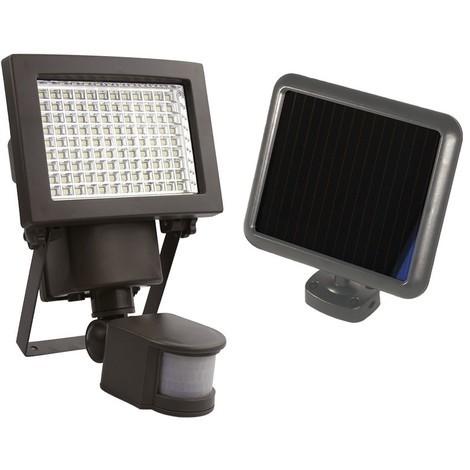Projecteur solaire à détection 108 LEDs 1000 Lumens