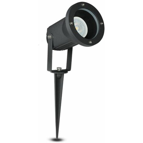 Projecteur Sur Piquet Pour Spot LED GU10 Ip44 Noir Vt-769 V-TAC