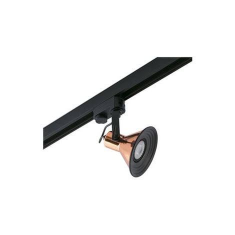 Projecteur sur Rail Cup Cuivre 1 X GU10 LED 8W