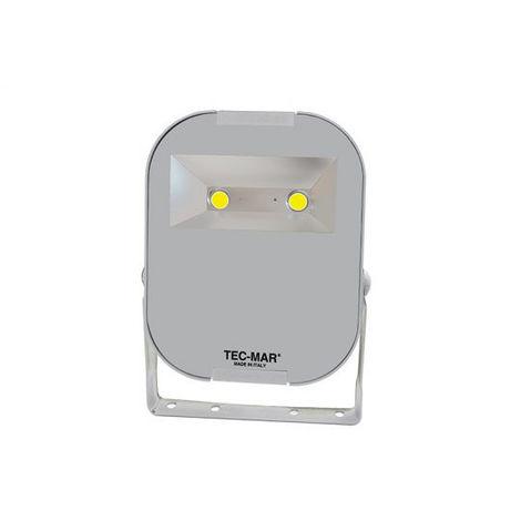 Projecteur Tecmar extérieure de 150W LED 5000K Gris 8036PR5150GL