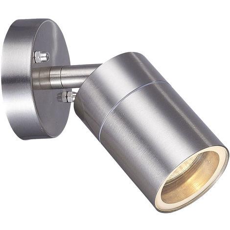 Projecteurs muraux Façades Éclairage Jardin Lampe d'extérieur Luminaire en acier inoxydable Spot pivotant Harms 103198