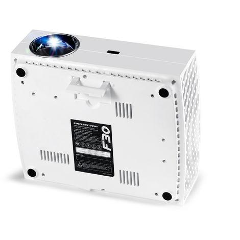 Projeteur AUN F30 Full HD 1920x1080. Projecteur Projecteur LED pour cinéma maison de 5500 lumens 3D 4K