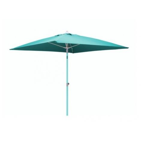 Proloisirs Parasol carré fibre de verre 2x2 Bleu