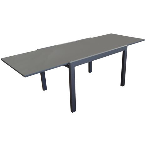 """main image of """"PROLOISIRS Table Elise 140/240 Grise"""""""