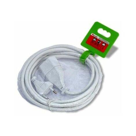 Prolongador Electrico 2X1Mm 4Mt 10A Famat Pvc Blanco