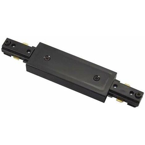 Prolongateur Rail LED Noir - 4 Wires Triphasé
