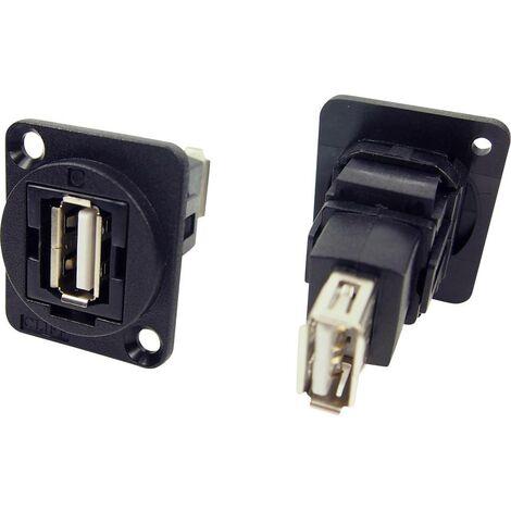 Prolongateur USB 2.0 type A femelle vers USB 2.0 type A femelle Cliff CP30208N 1 pc(s)