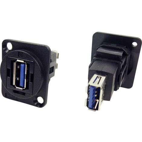 Prolongateur USB 3.0 femelle type A vers USB 3.0 femelle type A Cliff CP30205N 1 pc(s)