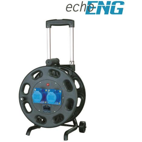 """main image of """"Prolunga elettrica industriale con avvolgicavo carrellato 230V-16A 2P 30 m"""""""