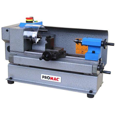 Promac - Torno de metal 230V 0,15kW 50x150mm - BD_3-M